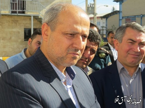 استاندار گلستان از دو واحد تولیدی شهرک صنعتی آق قلا بازدید نمود