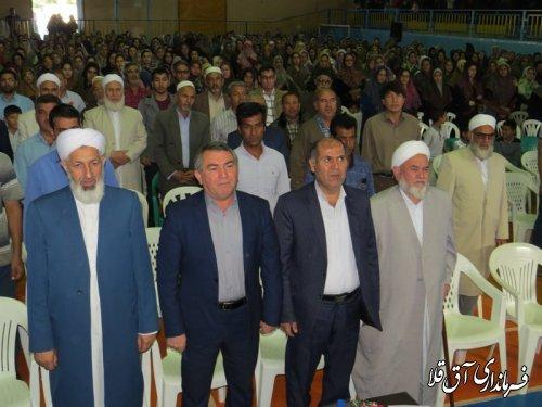 همایش هفته پیوند اولیا و مربیان و بهداشت روان در شهرستان آق قلا برگزار شد