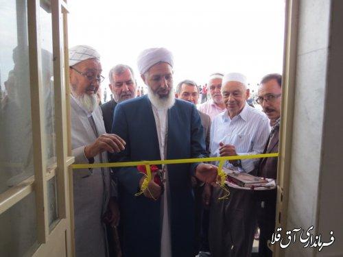"""مسجد""""محمد رسول الله""""مجموعه سوارکاری شهرستان آق قلا افتتاح شد"""