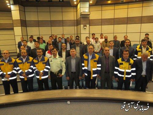 رزمایش رفع بی برقی 27 هزار مشترک در شهرستان آق قلا برگزار شد