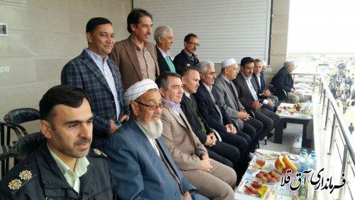 هفته هشتم مسابقات سوارکاری کورس پائیزه شهرستان آق قلا برگزار شد