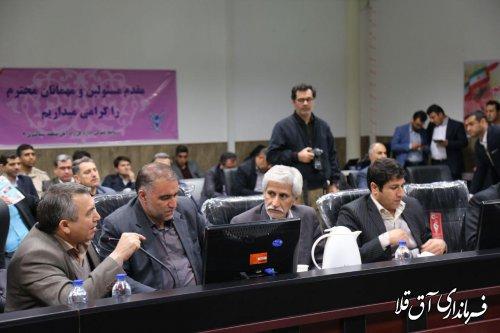 مساعدت مقام عالی وزارت در خصوص مطالبات مردم شهرستان آق قلا در حوزه راه و شهرسازی