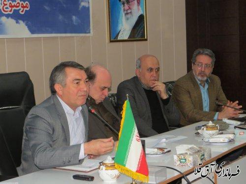 همایش دهیاران و شوراهای اسلامی روستاهای شهرستان آق قلا برگزار شد