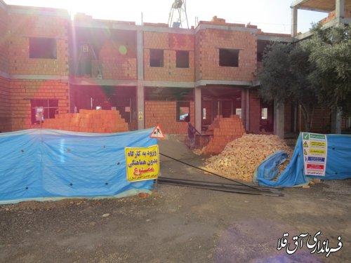 افتتاح مرکز جامع سلامت شماره یک شهر آق قلا،همزمان با گرامیداشت هفته دولت سال 98