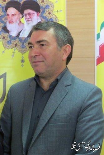 افتتاح بزرگترین سیستم آبیاری تحت فشار در شهرستان آق قلا با حضور وزیر جهاد کشاورزی