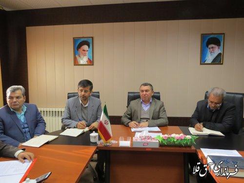 بیست و سومین جلسه کارگروه تنظیم بازار شهرستان آق قلا برگزار شد