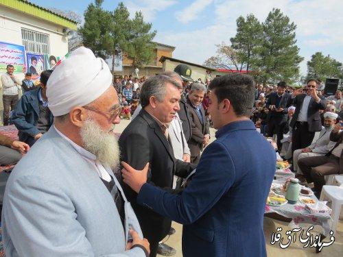 جشن چهلمین سالگرد پیروزی انقلاب در روستای اونق یلقی بخش مرکزی برگزار شد