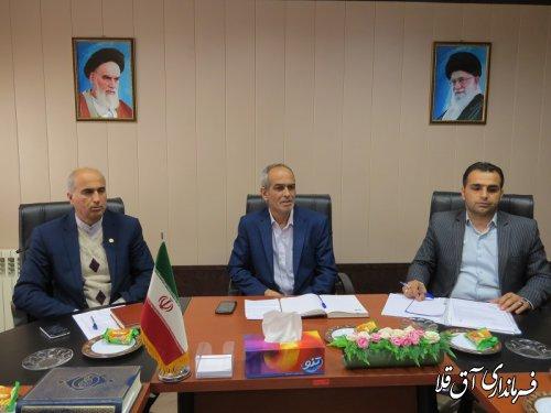 آخرین جلسه ستاد صیانت و حقوق شهروندی شهرستان آق قلا در سال جاری برگزار شد