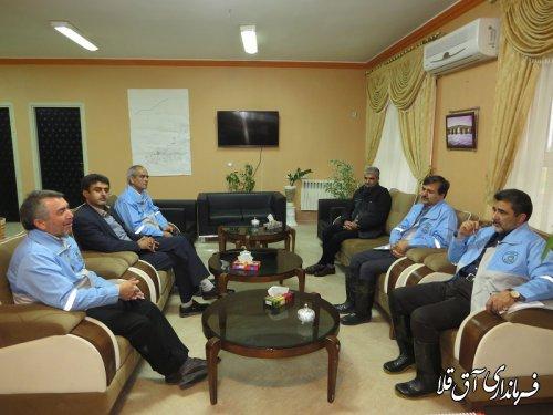 فرماندار شهرستان آق قلا آخرین وضعیت سیلاب در منطقه را تشریح کرد