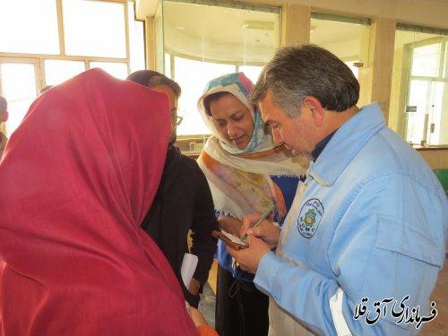 اولین دیدار چهره به چهره فرماندار با مردم سیل زده شهرستان آق قلا برگزار شد