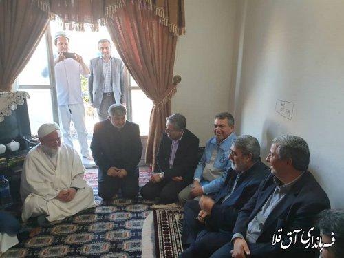 وزیر کشور با ائمه جمعه و جماعات شهر آق قلا دیدار کرد