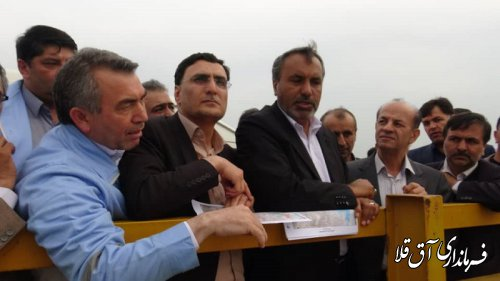 رئیس کمیسیون عمران مجلس شورای اسلامی از مناطق سیل زده شهرستان آق قلا بازدید کرد