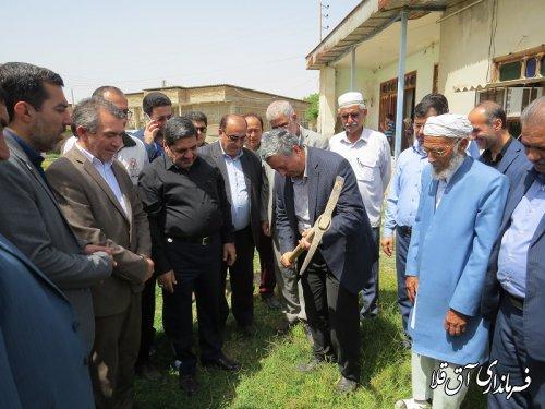 احداث واحد مسکونی برای خانواده شهید پقه روستای چن سولی بخش وشمگیر