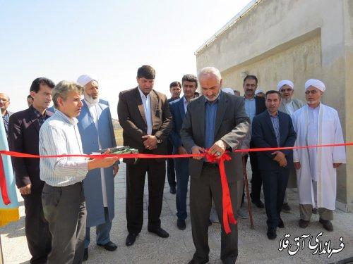 نیروگاه خورشیدی ۱۰ کیلو واتی دادگستری شهرستان آق قلا با اعتبار ۱۰۰ میلیون تومان به بهره برداری رسید