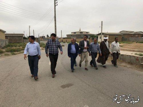 توسعه روستاها و اشتعالزائی برای جوانان٬اولویت مهم دولت در شهرستان آق قلا است