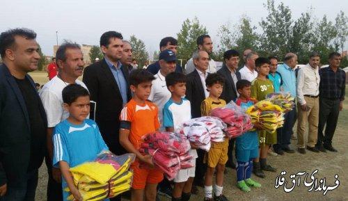 جشنواره ورزشی نوجوانان مناطق سیل زده گلستان در شهرستان آق قلا برگزار شد