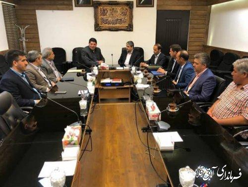 فرماندار و رئیس ستاد مدیریت بحران شهرستان آق قلا از شهردار گرگان تجلیل بعمل آورد