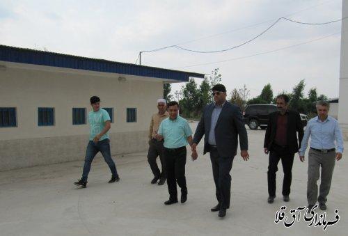 نماینده عالی دولت از مجموعه سوارکاری شهرستان آق قلا بازدید بعمل آورد