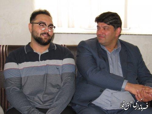 نماینده عالی دولت از دانش آموز شهرستان آق قلا تقدیر کرد
