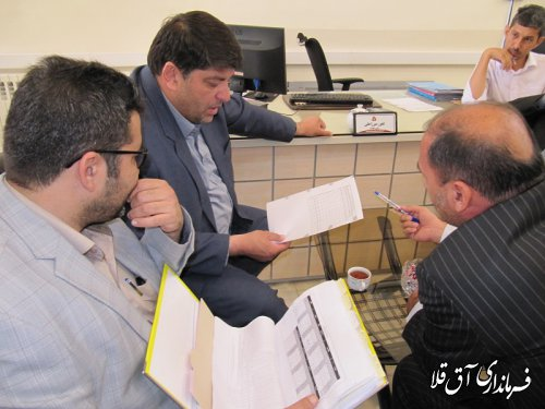 فرماندار شهرستان آق قلا آخرین وضعیت پرداخت تسهیلات شهروندان سیل زده را مورد ارزیابی قرار داد