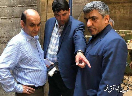 استاندار گلستان از سد وشمگیر شهرستان آق قلا بازدید بعمل آورد