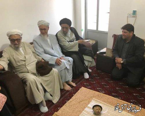 نماینده ولی فقیه در استان با ائمه جمعه و روحانیون شهرستان آق قلا دیدار کرد
