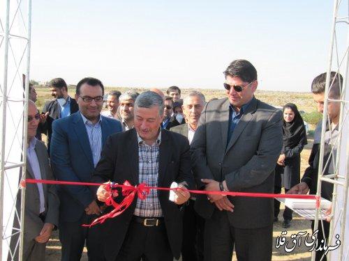 لندفیل پزشکی غرب استان با اعتبار 520 میلیون تومان در سایت پسماند شهرستان آق قلا به بهره برداری رسید