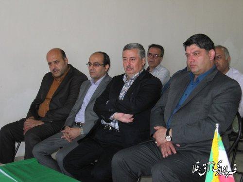 لندفیل پزشکی غرب استان در سایت پسماند شهرستان آق قلا به بهره برداری رسید