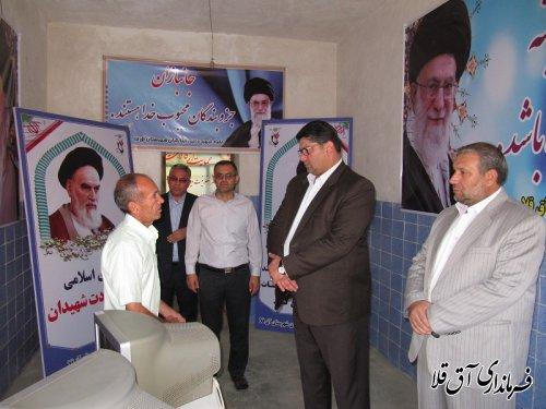 530 خانواده شهید،آزاده و جانباز،برگ زرین افتخار شهرستان آق قلا در پشتیبانی از آرمان های انقلاب اسلامی است