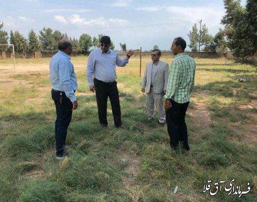 بازدید نماینده عالی دولت از روستاهای قوشجان آباد و گامیشلی یلقی بخش مرکزی شهرستان آق قلا
