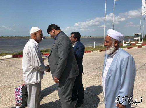 538 نفر از زائرین بیت الله الحرام و خدام کاروان شهرستان آق قلا به سلامت بازگشتند