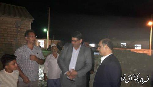 یکهزار و 38 واحد تخریبی شهرستان سیل زده آق قلا به بانک های عامل معرفی شده اند