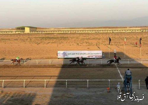 هفته نخست مسابقات سوارکاری شهرستان آق قلا برگزار شد