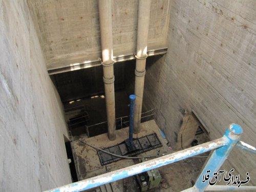فرماندار شهرستان آق قلا از روند تعمیر دریچه های سد وشمگیر بازدید بعمل آورد