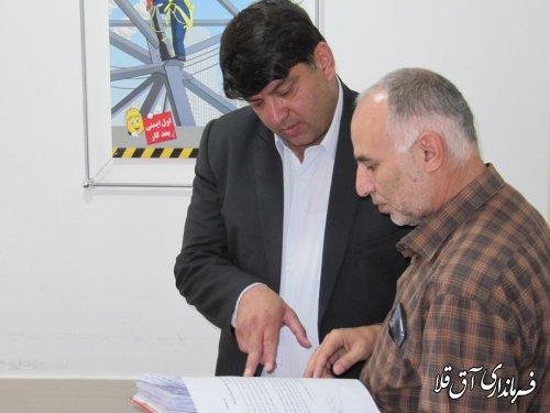480 شرکت تعاونی در سطح شهرستان آق قلا فعالیت می نمایند