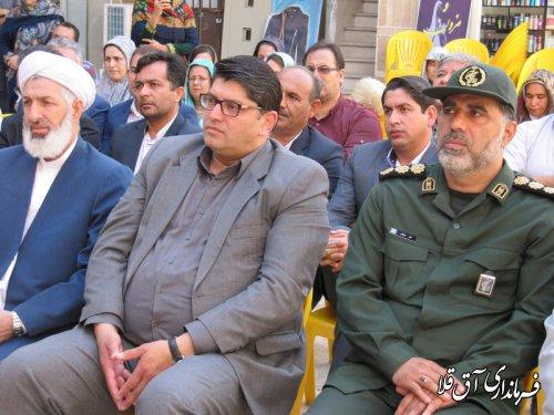 """ششمین مرکز نیکوکاری""""قلک مهر صحرا""""در شهر آق قلا افتتاح شد"""