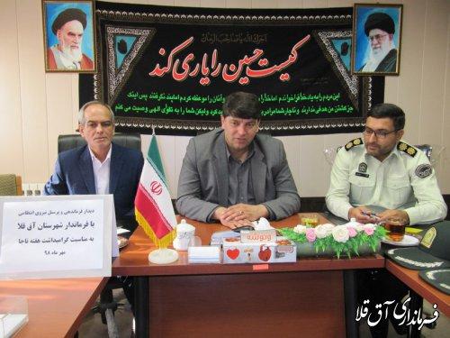 نیروی انتظامی پیشانی حاکمیت و نظام اسلامی است