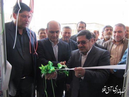 دو واحد مسکونی در روستاهای سیل زده چن سولی و تازه آباد شهرستان آق قلا افتتاح شد