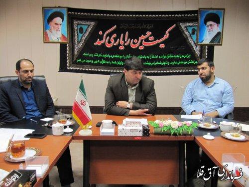 آغاز عملیات لایروبی رودخانه گرگانرود از پل خرمشهر تا پل شهید باهنر شهر آق قلا