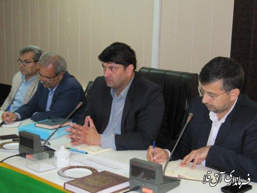 انعقاد قرار داد چهار هزار و 692 پرونده متقاضیان مناطق سیل زده در بانک های عامل شهرستان آق قلا