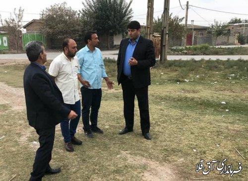 اجرای طرح هادی در سطح یک سوم روستاهای بخش مرکزی شهرستان آق قلا