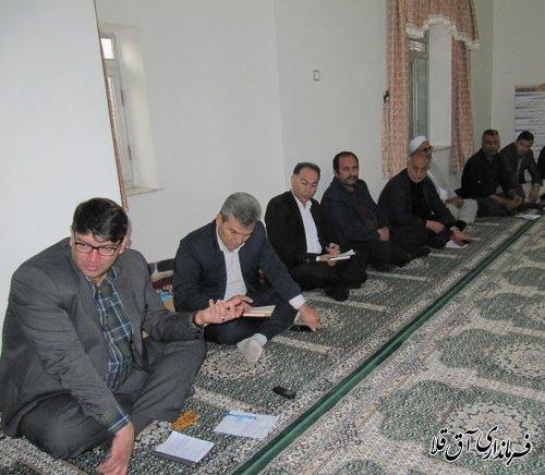 پنجمین میز خدمت در روستای سیل زده یلمه خندان شهرستان آق قلا برگزار شد