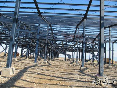 40 درصد پیشرفت فیزیکی پروژه کشتارگاه صنعتی دام سبک و سنگین