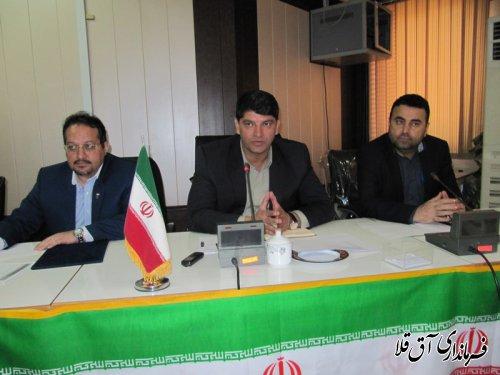 هشتمین جلسه کارگروه کار،تعاون و رفاه اجتماعی استان در شهرستان آق قلا برگزار شد
