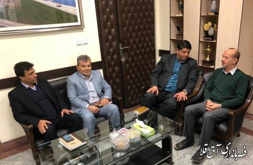 نشست مشترک فرماندار با مدیران کل دستگاههای اجرایی استان برگزار شد
