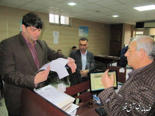 865 پروانه ساختمانی برای متقاضیان مناطق سیل زده شهر آق قلا صادر شده است