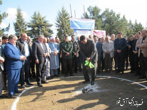 آغاز عملیات اجرایی ساخت دبستان روستای قوشچان آباد با اعتبار 25 میلیارد ریال