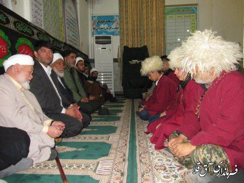 """مراسم بزرگداشت""""شهید سپهبد سلیمانی""""در شهرستان آق قلا برگزار شد"""