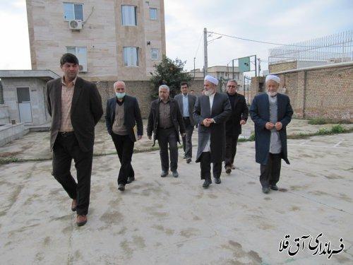 فرماندار و رئیس هیات اجرایی از شعبات اخذ رای در شهرستان آق قلا بازدید بعمل آورد