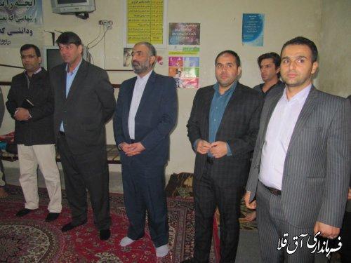 دبیر شورای هماهنگی مبارزه با مواد مخدر استان از مراکز ترک اعتیاد شهر آق قلا بازدید کرد